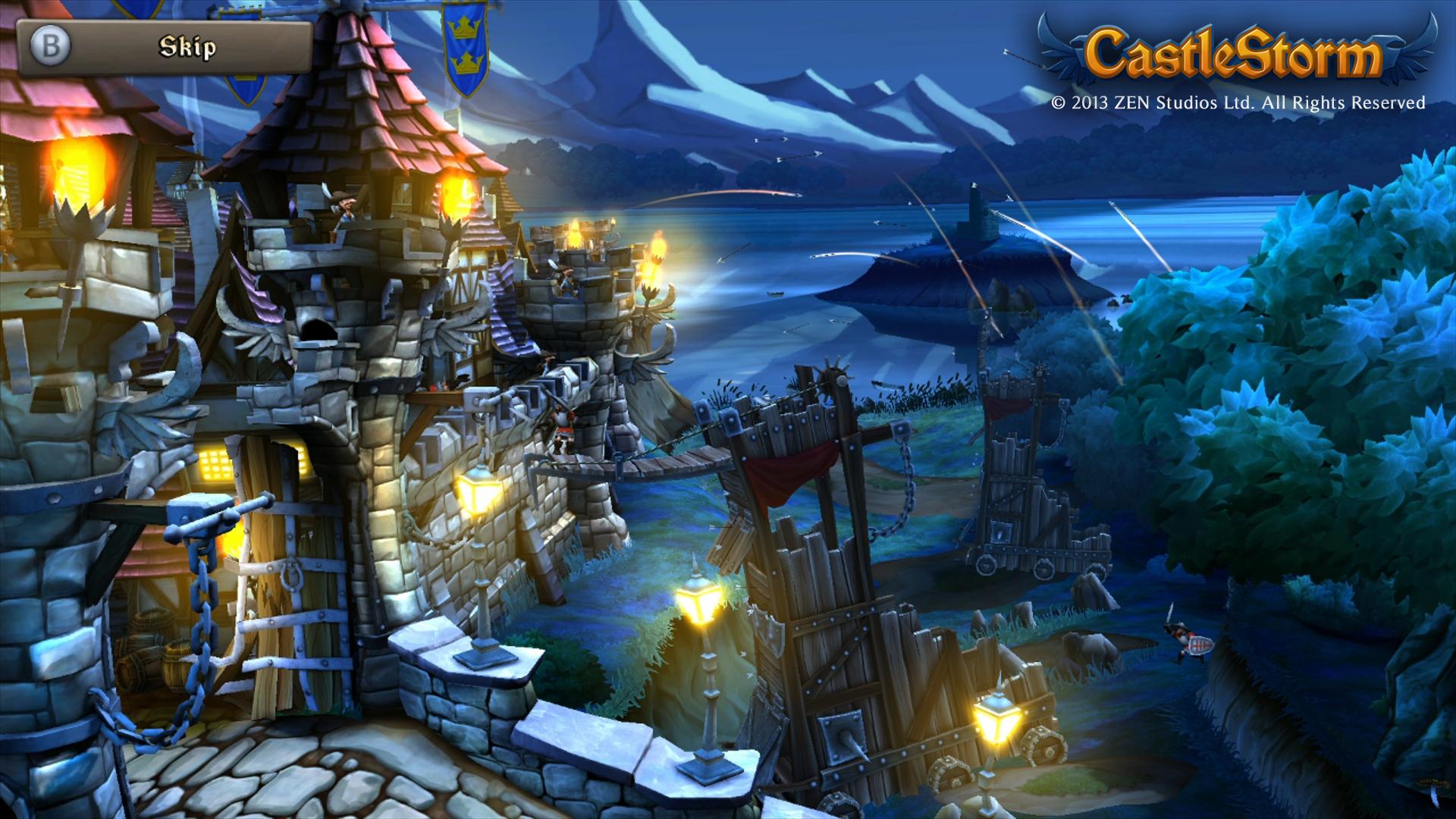 PR: CastleStorm Releasing on Wii U eShop December 26