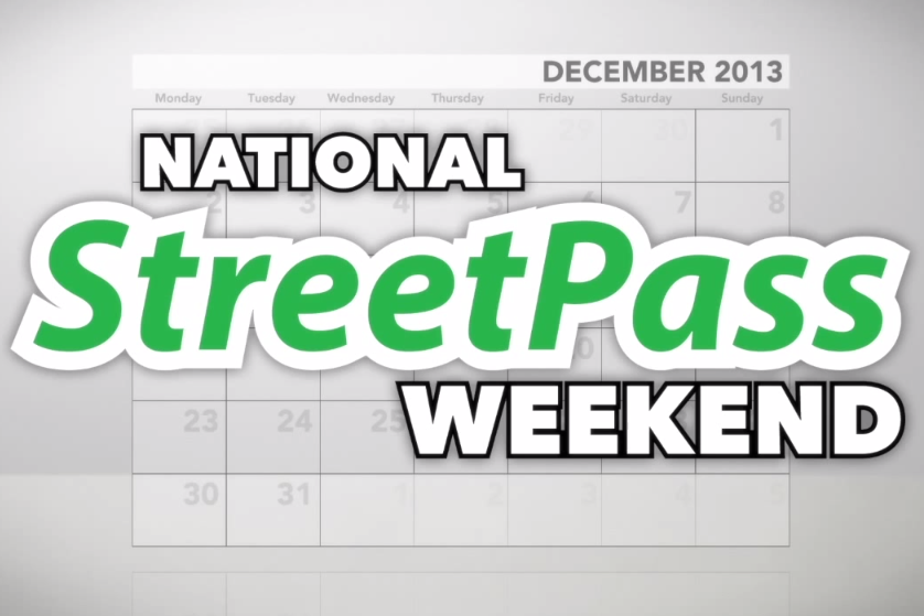 Celebrate National StreetPass Weekend December 14-15 At Nintendo Zone Locations