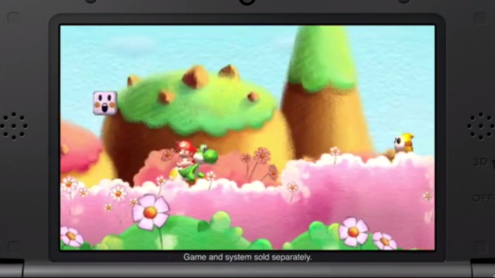 "New ""Yoshi's New Island"" Screens and Video"