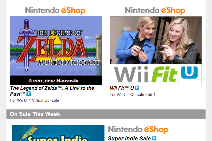 Nintendo Download – January 30, 2014