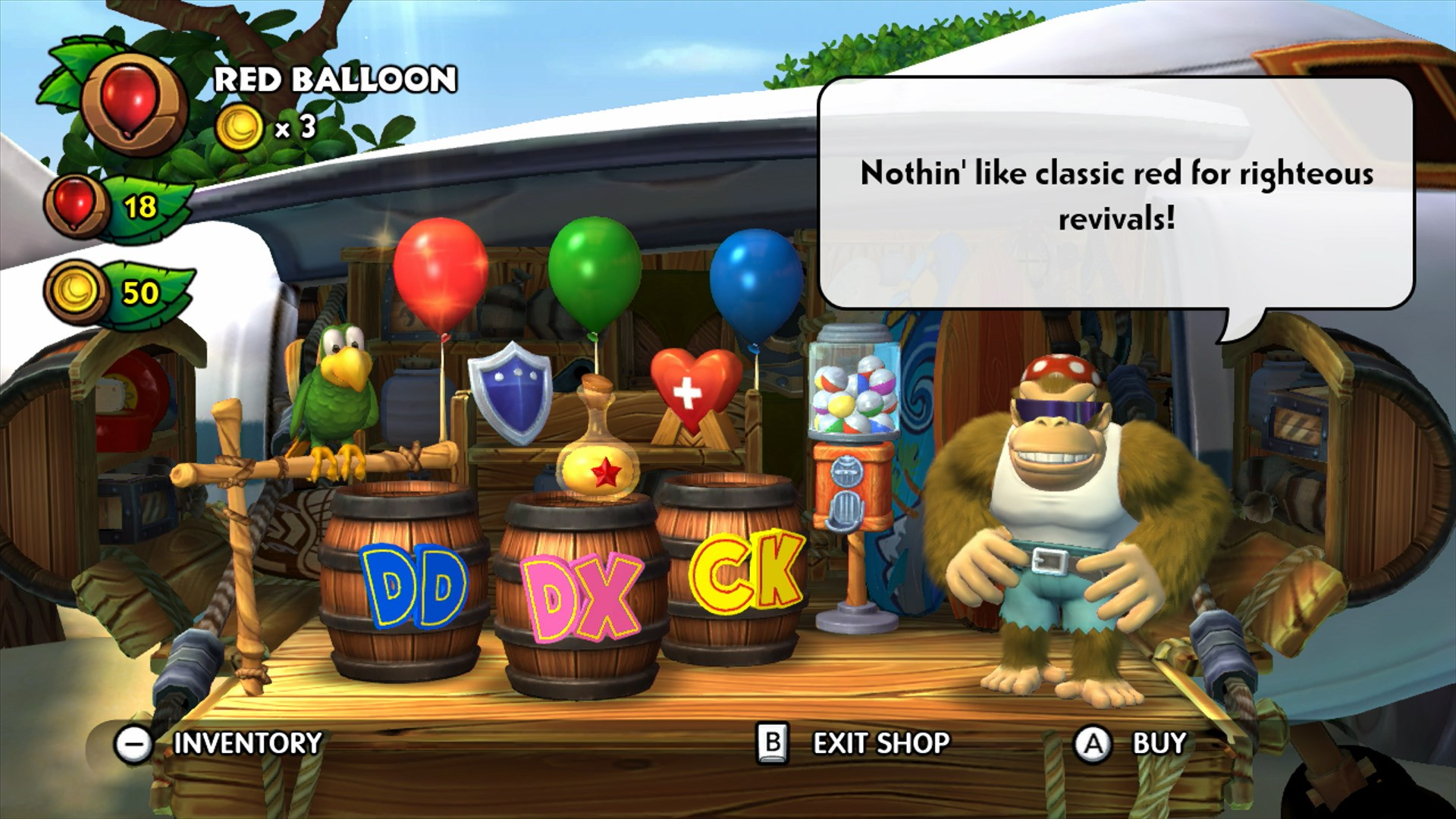 New Screens For Donkey Kong Country Tropical Freeze Pure Nintendo