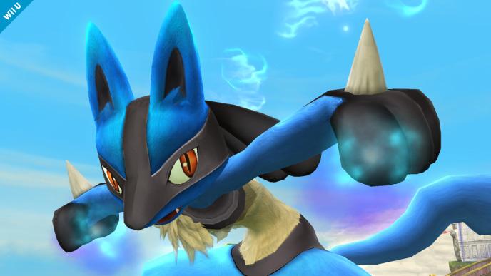 Smash Bros. Wii U/3DS Update – Lucario Returns