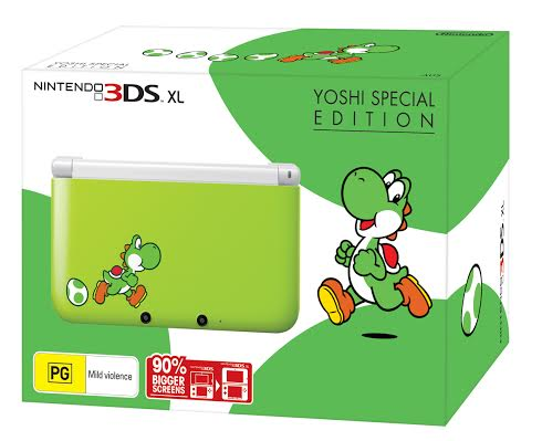 Yoshi Special Edition 3DS XL Revealed
