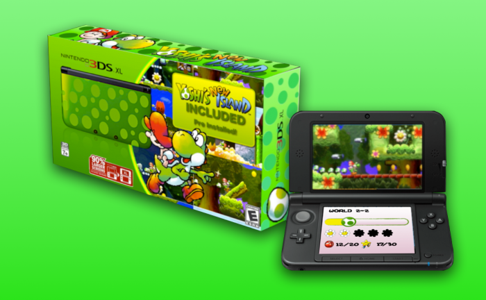 Yoshi's New Island 3DS XL Bundle Incoming?