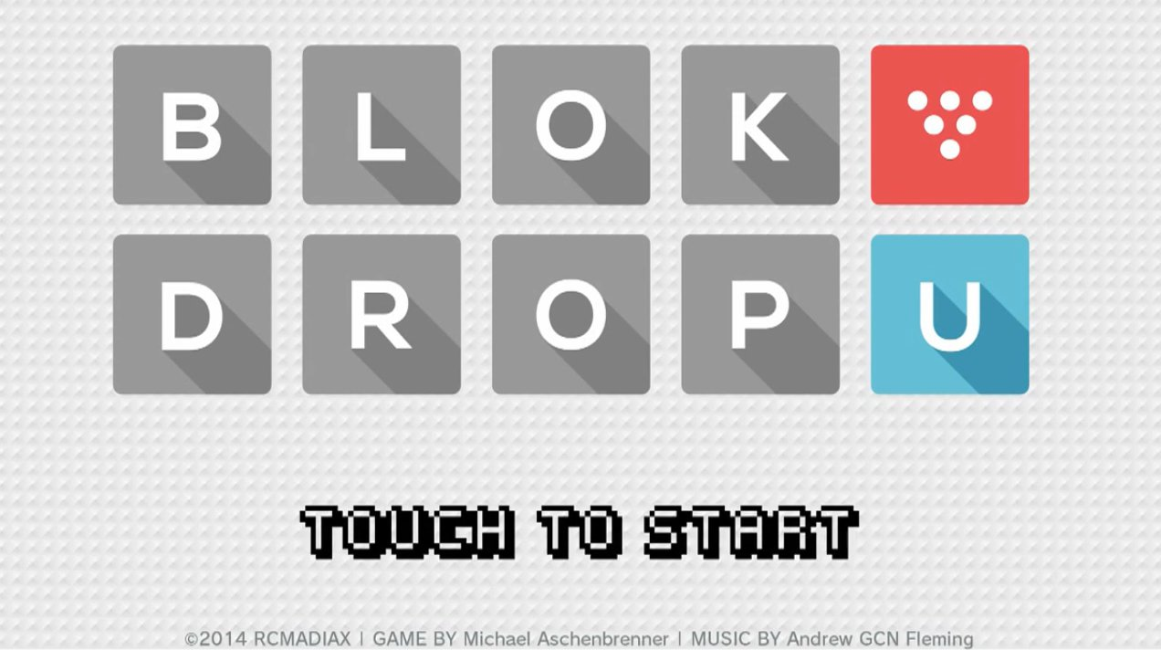 Block drop u