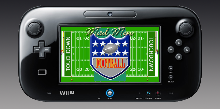 AE Games Announces First Wii U Game: Mad Men Football
