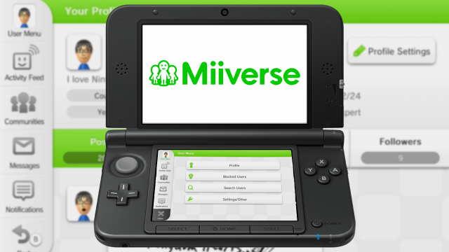 Miiverse Update Improves Following, Screenshots and Videos