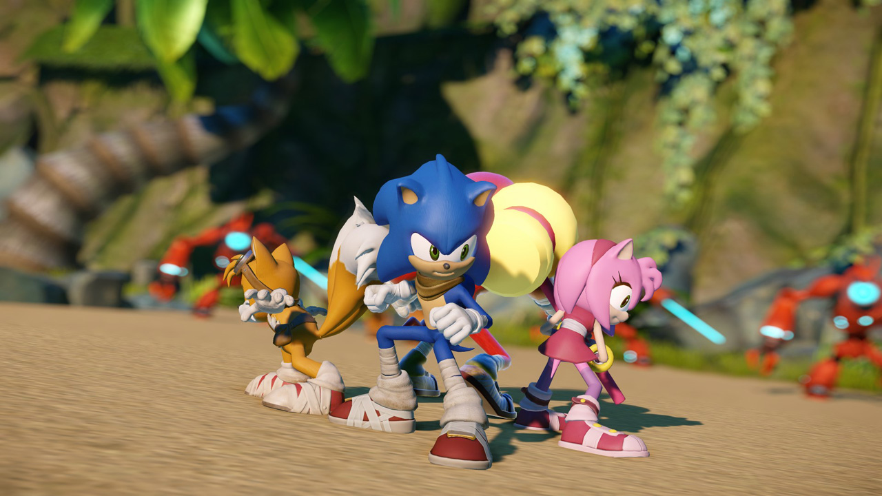SEGA INTRODUCES ALL-NEW CHARACTER STICKS TO SONIC BOOM FRANCHISE