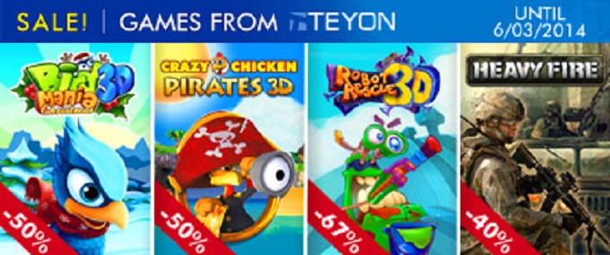 Teyon's massive discount bonanza on Nintendo 3DS games