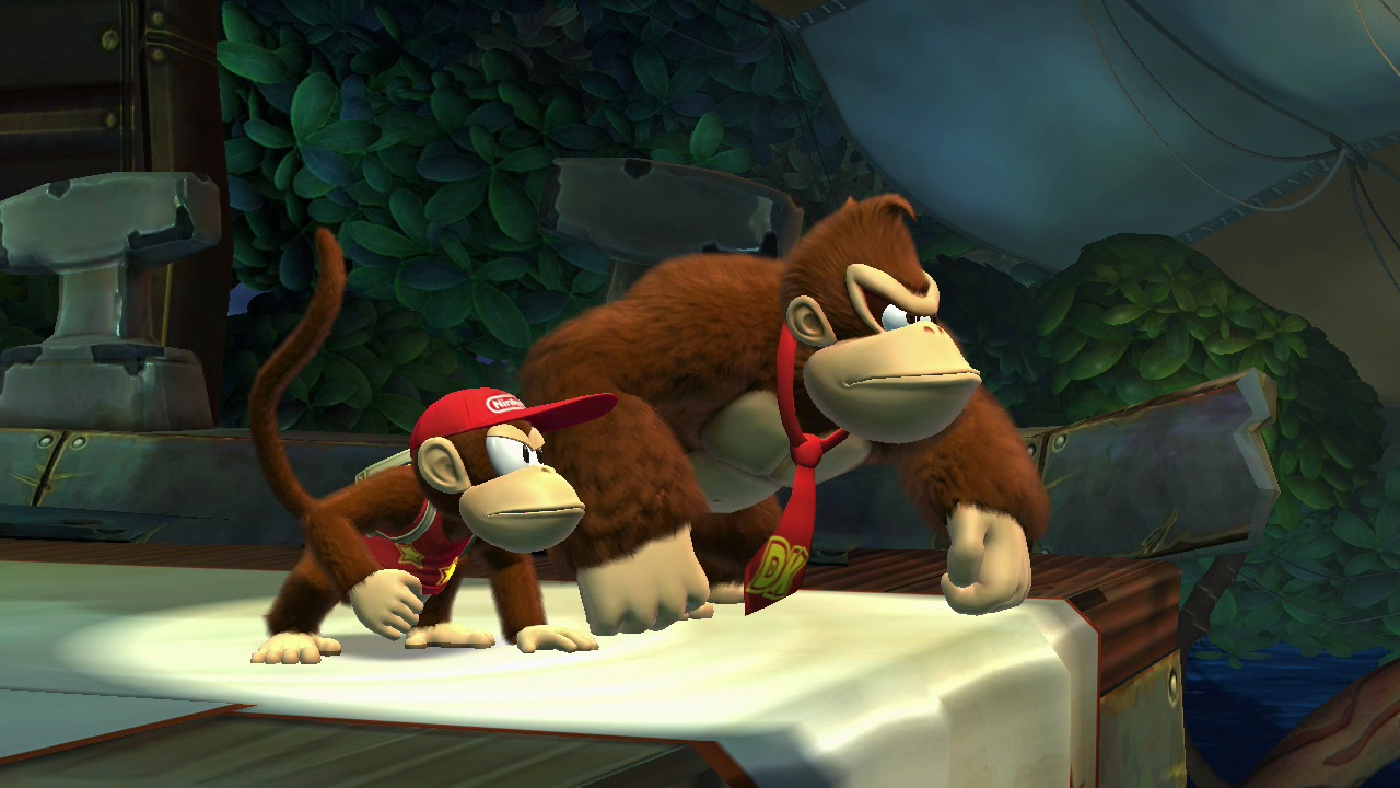 Donkey Kong Country: Tropical Freeze footage at 60fps