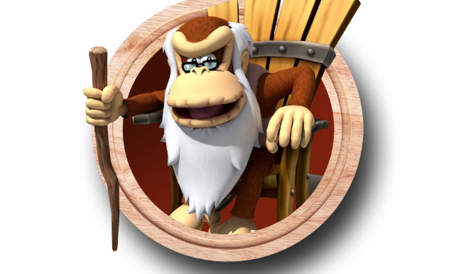 Cranky Kong Taking Over Nintendo's Twitter
