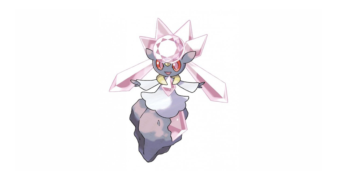Mythical Diancie Coming to Pokémon X & Y