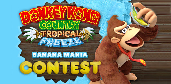 Nintendo of Canada Donkey Kong competition