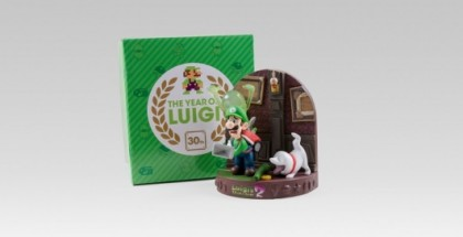 Luigi's mansion diorama