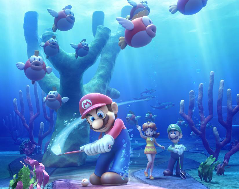 Nintendo Shows Off Cheep Cheep Lagoon in Mario Golf