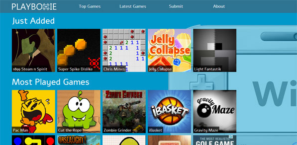 Play HTML5 Games On Your Wii U browser