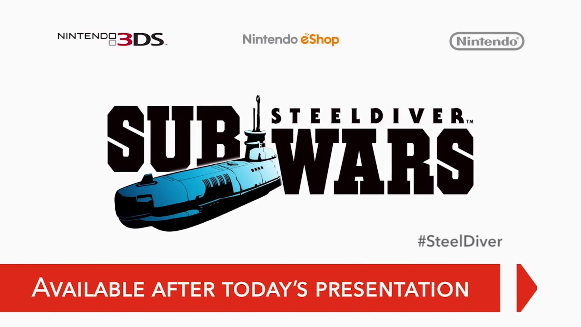 Steel Diver: Sub Wars available for free download on 3DS eShop