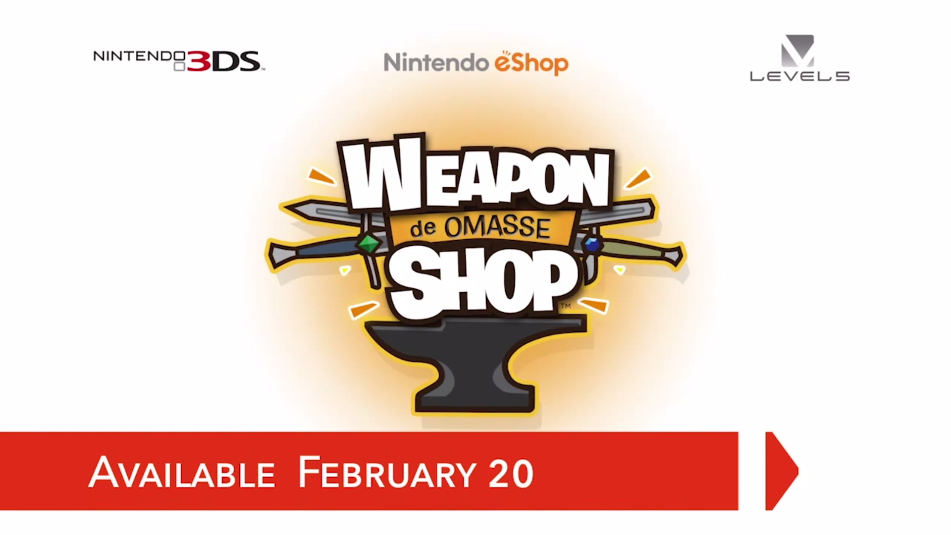 Weapon Shop de Omasse launches February 20th