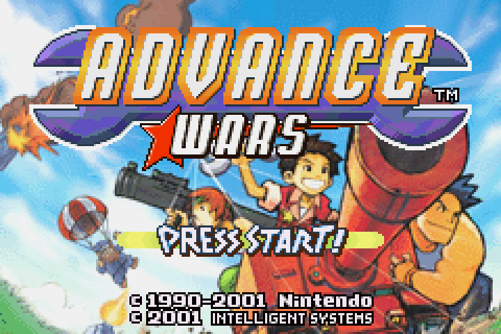 First GBA Title To Hit Wii U Virtual Console Is Advance Wars