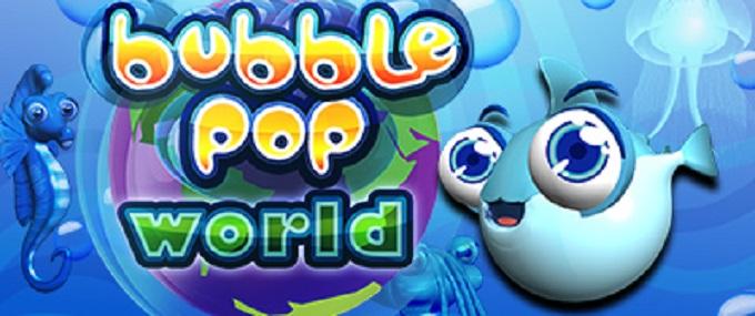 Bubble Pop World Banner