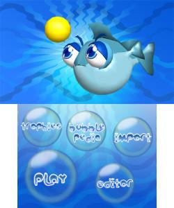 Bubble Pop World Menu