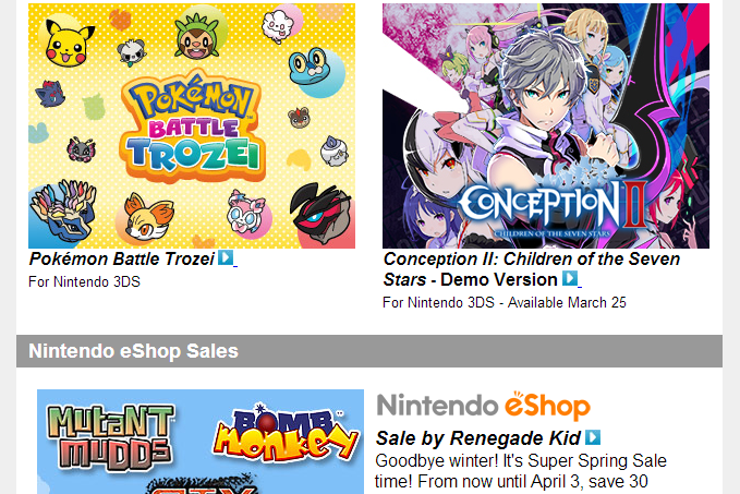 Nintendo Download – March 20th, 2014
