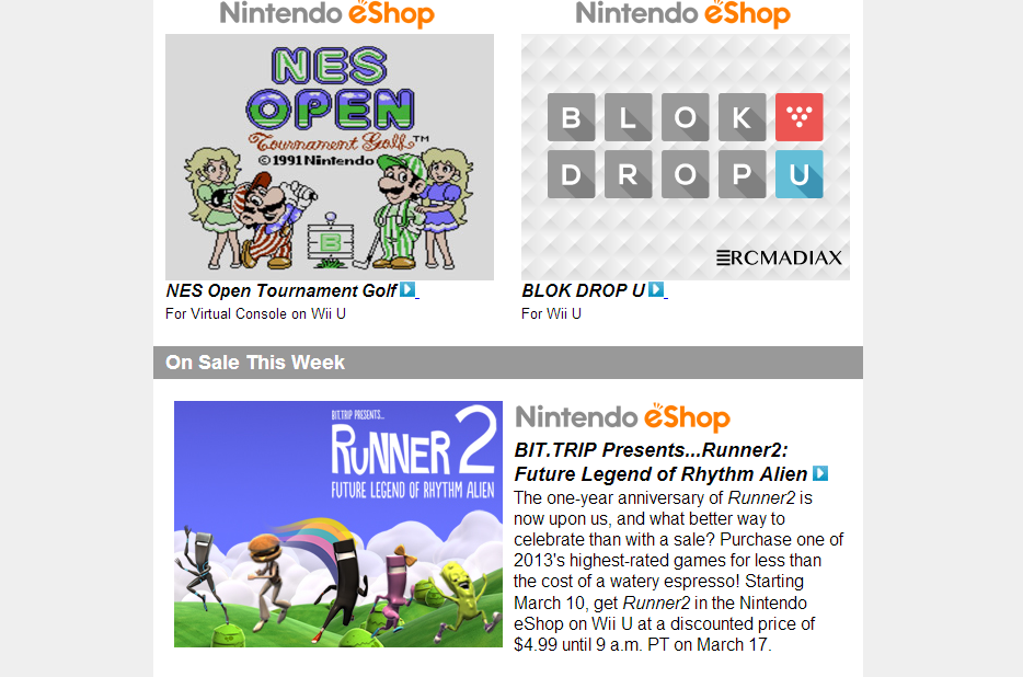 Nintendo Download – March 6th, 2014