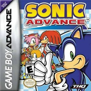Sonic Advance - box