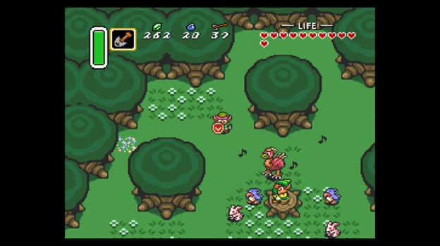 Zelda flute boy