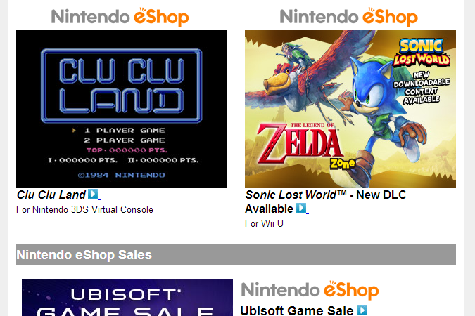 Nintendo Download – March 27th, 2014