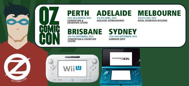 Nintendo Australia to Attend Oz Comic-Con