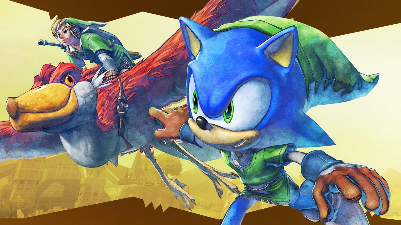 Sonic: Lost World – The Legend of Zelda Zone Concept Art