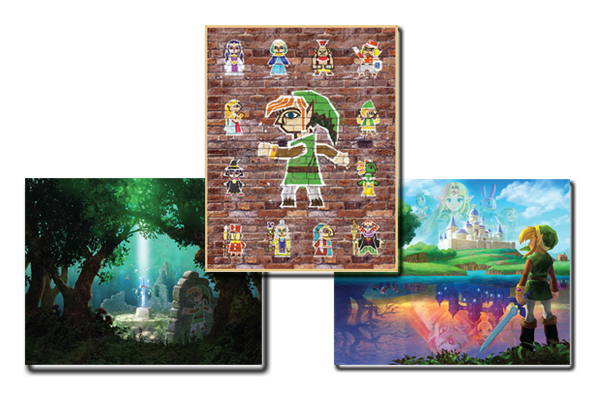 Beautiful Zelda Posters Available Again in Club Nintendo