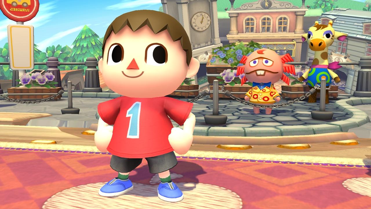 Smash Bros. Wii U/3DS – New Villager pics