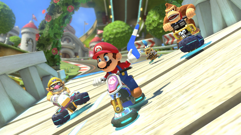 Nintendo PR: New Items, Characters and Tracks Make for Head-Over-Heels Fun in Mario Kart 8