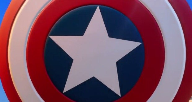 Disney Infinity Captain America Shield