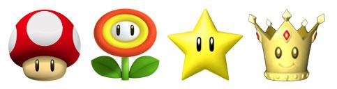 Mario Kart cups