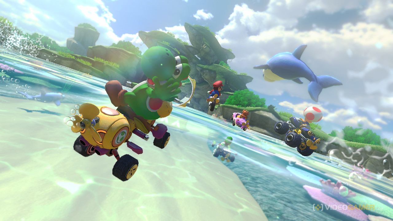 Mario Kart 8 Runs at 1080p and 60fps – Even in Two Player Mode