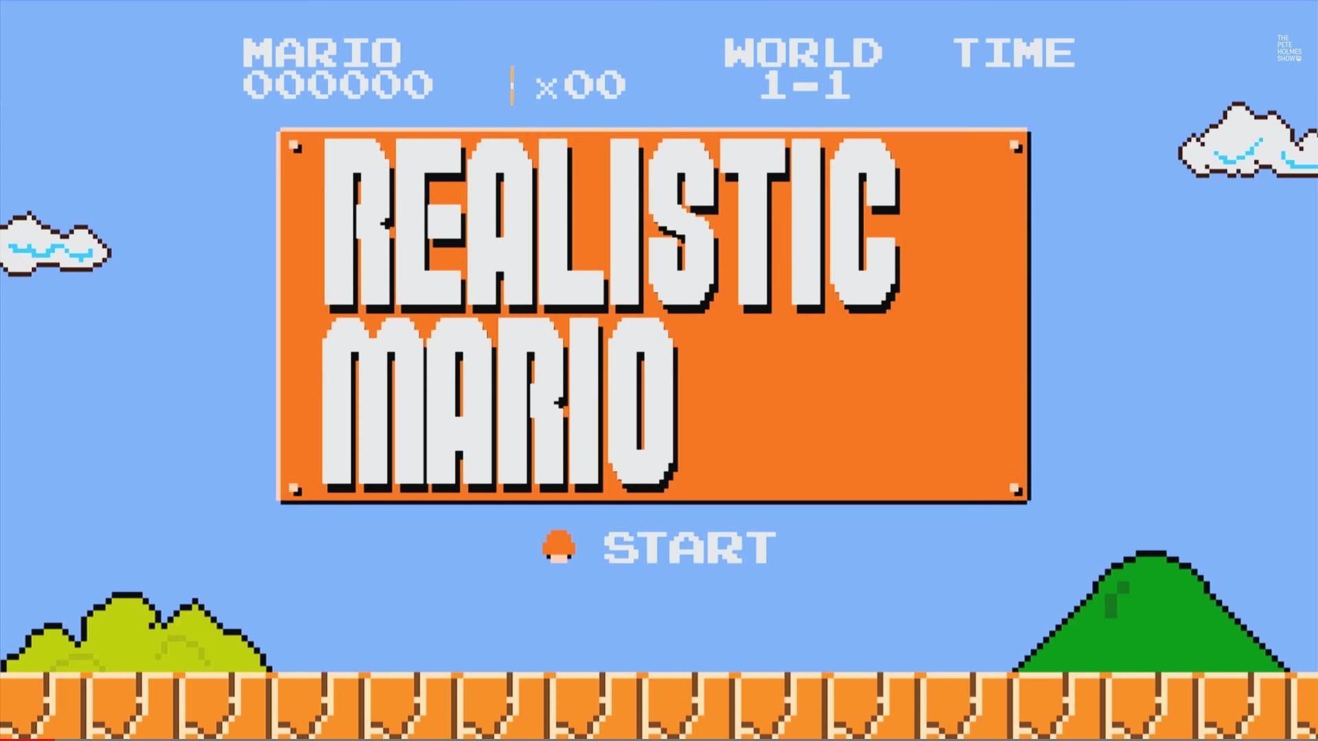 realistic mario