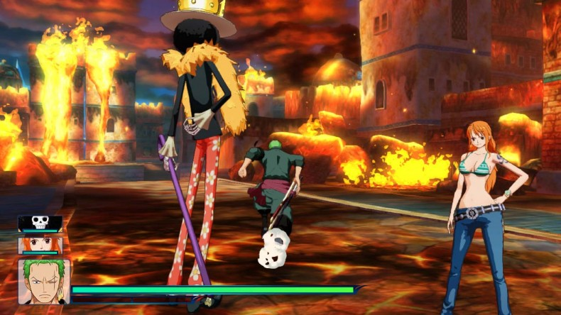 One Piece: Unlimited World Red Details for Wii U
