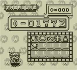 Wario Land treasure