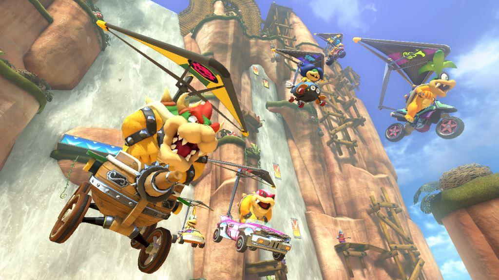 Mario Kart 8 Footage