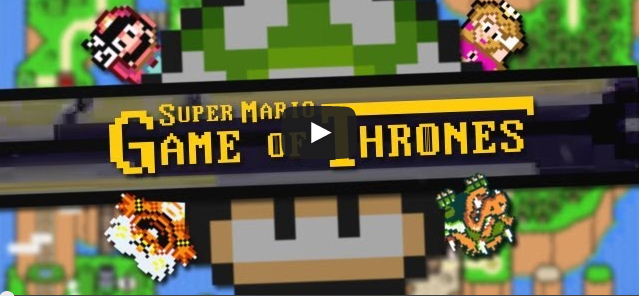 Game of Thrones in a Super Mario Brothers Style (fan video)
