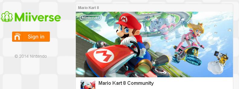 Mario Kart 8 Miiverse Now Open for Everyone