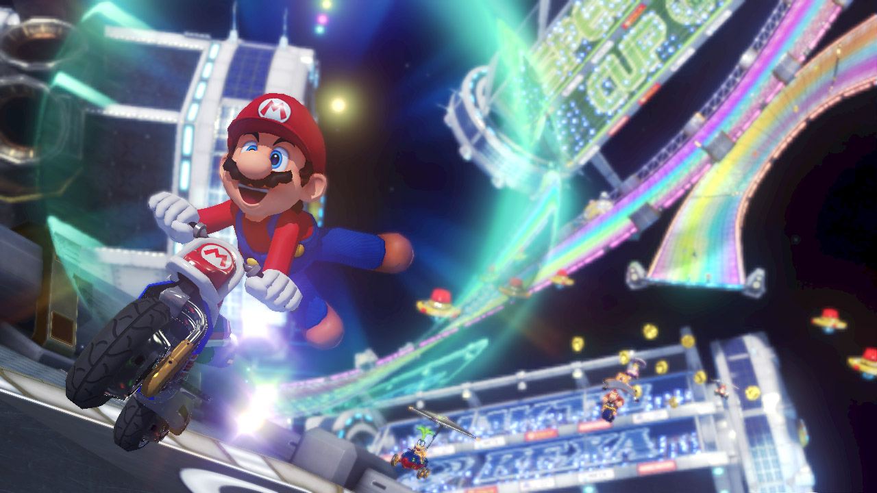Mario Kart 8 DLC: Yes, That's Link on a Motorcycle