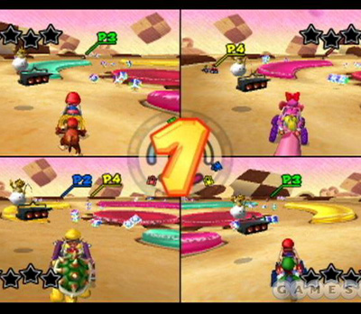 Mario Kart: Double Dash!! (Cookie Land)