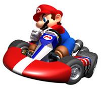 Mario's standard kart