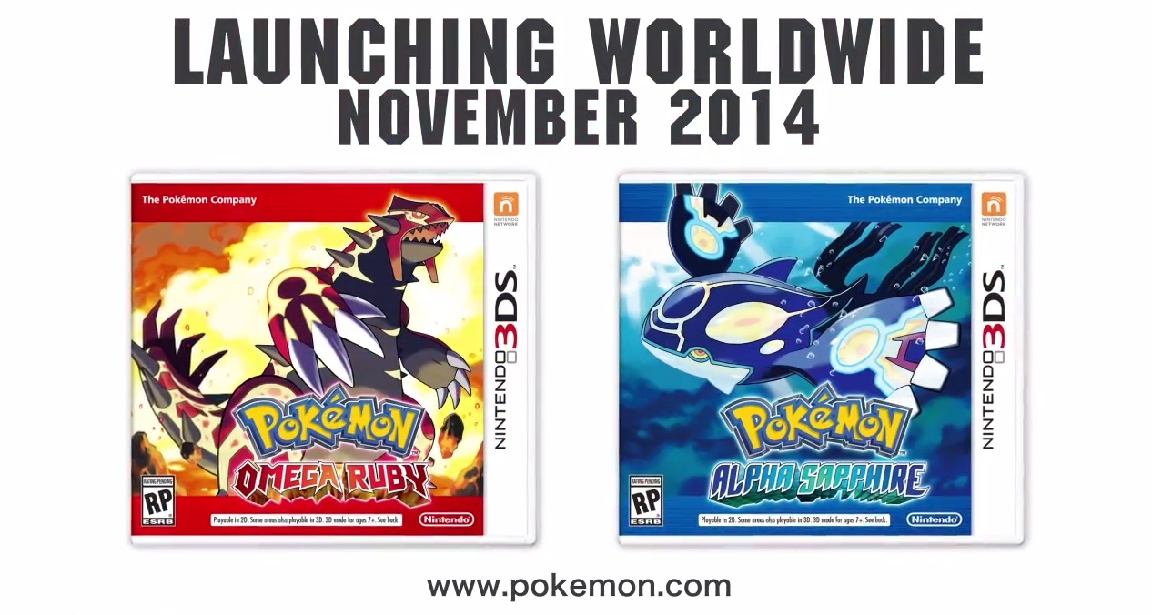 E3 2014 PR: More Gameplay Footage Uncovered for Pokémon Omega Ruby and Pokémon Alpha Sapphire