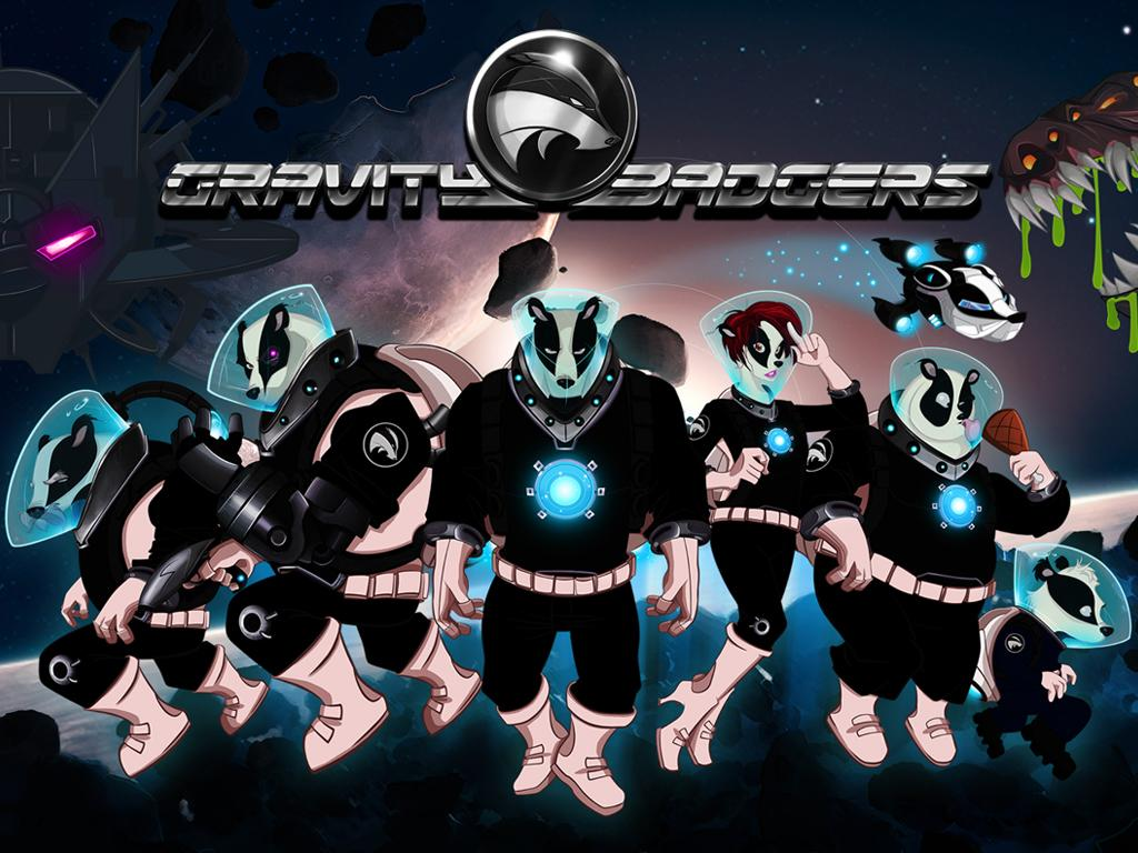 PN Review: Gravity Badgers (Wii U eShop)