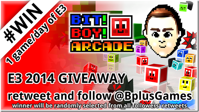 Bit Boy!! Arcade for 3DS %40 off during E3 in 3DS eShop